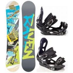 Zestaw snowboard Raven Risky + wiązania Raven s200