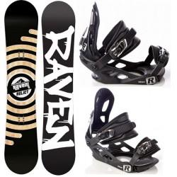Zestaw snowboard Raven Relict 2015 + wiązania Raven s200