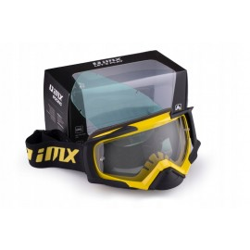 Gogle iMX Racing Dust Dark Smoke + Clear MX