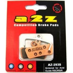 Klocki hamulcowe A2Z Gold Avid X0 Trail 4 Piston