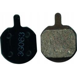 Klocki Hamulcowe półmetaliczne ACCENT MX-2 MX-3