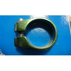Obejma Podsiodłowa Zacisk Imbus ALU 28,6mm Zielony