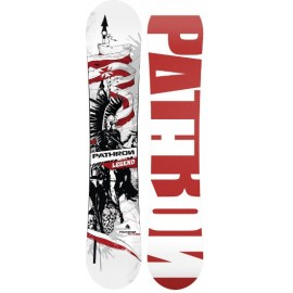 Snowboard Pathron Legend White 2017