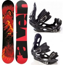 Zestaw junior snowboard Raven Dragon 2015 + wiązania Raven s200