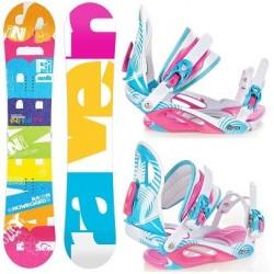 Zestaw snowboard Raven Infinity 2015 + wiązania Raven Heart