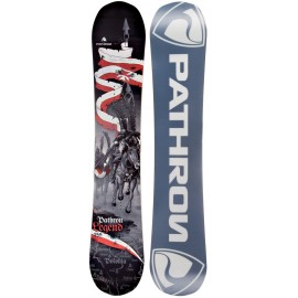Snowboard Pathron Legend Gray Hybrid Camber 2018