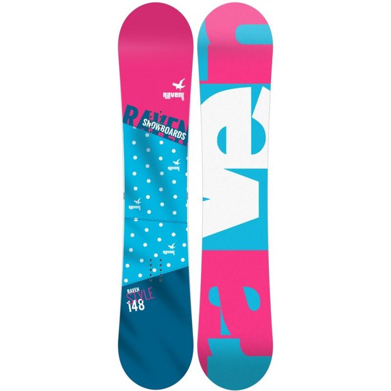 Snowboard Raven Style 2018
